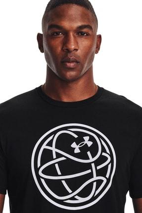 Under Armour Erkek Spor T-Shirt - UA HOOPS ICON TEE - 1361920-001 3