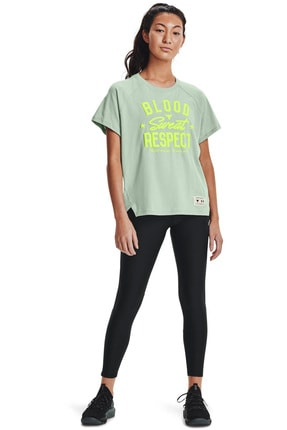 Under Armour Kadın Spor T-Shirt - UA Prjct Rock BSR SS - 1361061-340 2