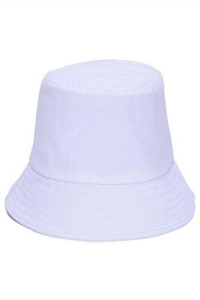 Y-London 13372 Beyaz Bucket Şapka 3
