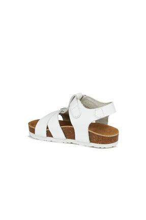 Vicco Sedna Unisex Çocuk Beyaz Sandalet 2