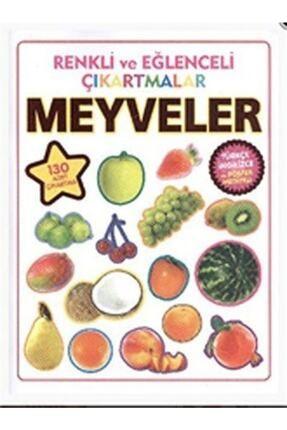 Parıltı Yayıncılık Renkli Ve Eğlenceli Çıkartmalar Meyveler 0