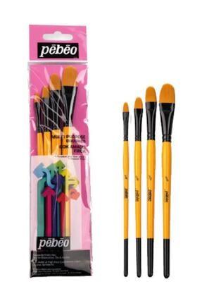 Pebeo 4'lü Fırça Seti - Set 11 0