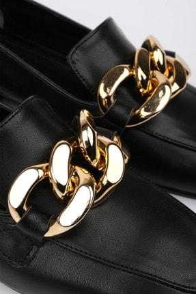 Marjin Kadın Siyah Loafer Ayakkabı Modena 2