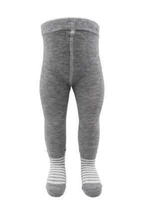 Belyy Socks Erkek Bebek Desenli Külotlu Çorap 3'li 1