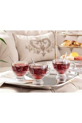 Madame Coco Perren 4'lü Çay Fincanı 190 ml 0