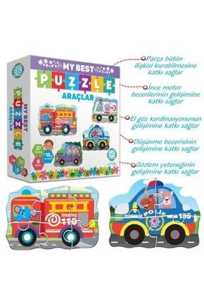 Circle Toys My Best Puzzle Hayvanlar+araçlar Ikili Set 2