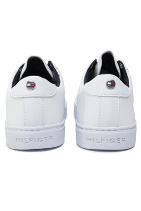 Tommy Hilfiger Kadın Crystal Leather Casual Sneaker Fw0fw04299 100 4