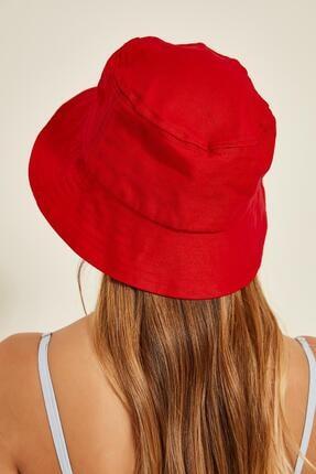Y-London 13372 Kırmızı Bucket Şapka 2