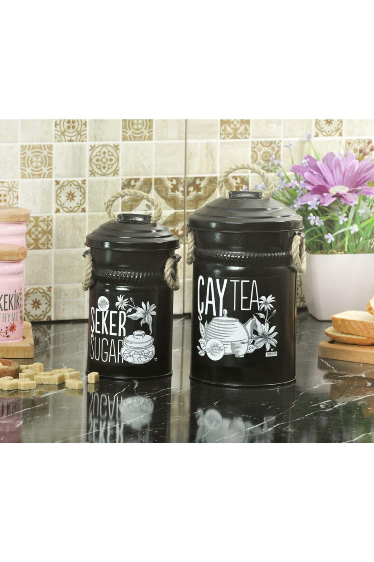 Çay Ve Şeker Saklama Kapları