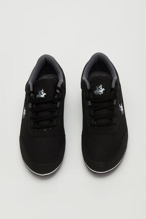 Muggo Erkek Siyah Bağcıklı Sneaker Mgbarney01 1