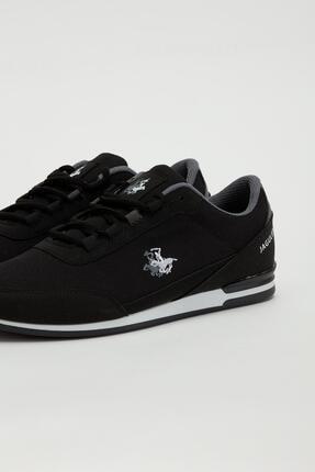 Muggo Erkek Siyah Bağcıklı Sneaker Mgbarney01 3