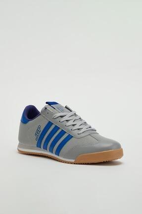 Muggo Erkek Füme Bağcıklı Sneaker Mgbarney02 0