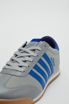 Muggo Erkek Füme Bağcıklı Sneaker Mgbarney02 4