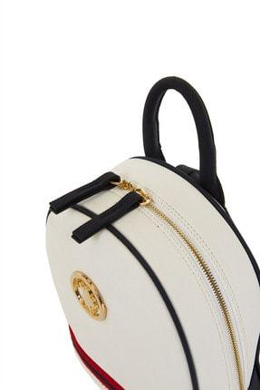 US Polo Assn Beyaz-lacıvert Kadın Sırt Çantası Us8218 4