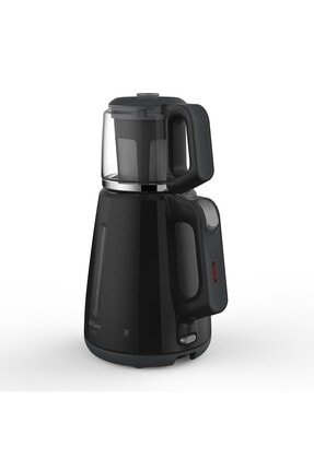 Arzum Cam Demlik Çay Makinesi 1700 Watt - Siyah AR3061 1