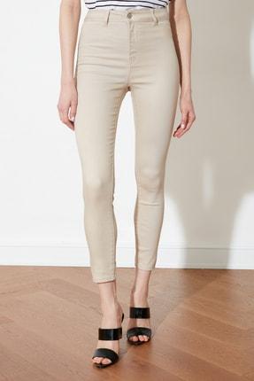 TRENDYOLMİLLA Taş Yüksek Bel Jegging Jeans TWOSS21JE0252 3
