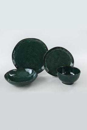 Keramika Zümrüt Yemek Takımı 24 Parça 6 Kişilik 2