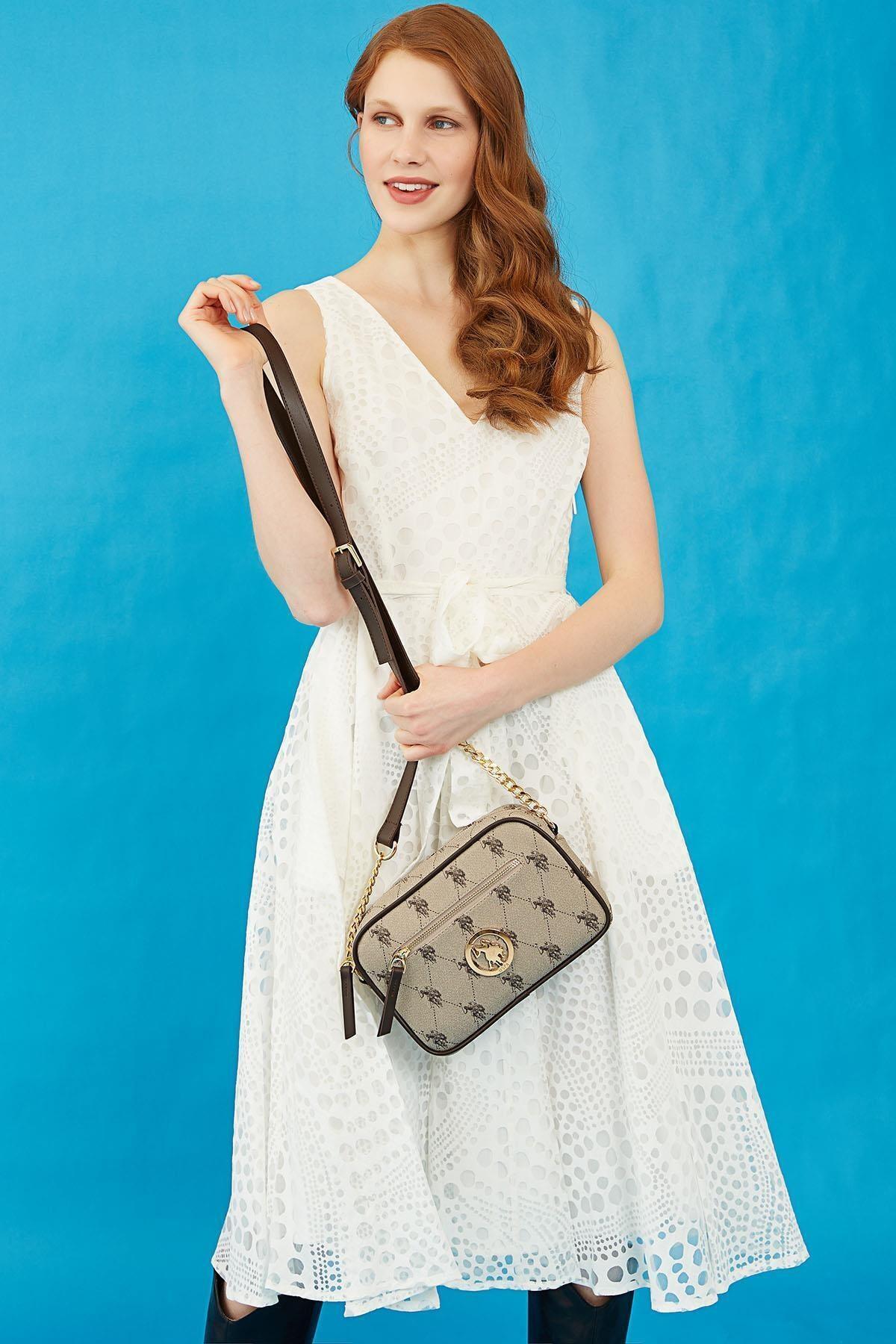 Kadın Kahverengi Çapraz Çanta