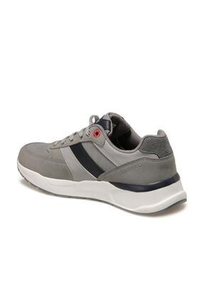 Kinetix Ranto Gri Erkek Kalın Taban Sneaker Spor Ayakkabı 2