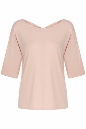 İpekyol Kadın Pembe Basic Bluz 0