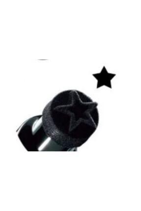 İki Yıldız Bir Tarafı Kalem Bir Tarafı Yıldız Baskılı Eyeliner 0