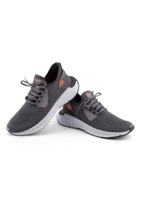 AKX 7 132 Füme Beyaz Hava Akışlı Erkek Spor Ayakkabı 1