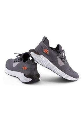 AKX 7 132 Füme Beyaz Hava Akışlı Erkek Spor Ayakkabı 2