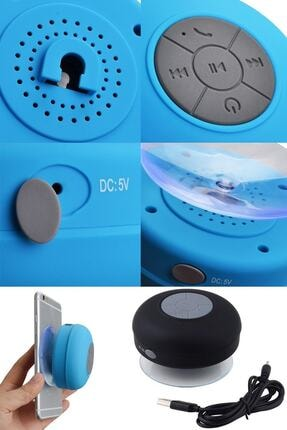 Urban Sound Bluetooth Hoparlör Ses Bombası Eller Serbest Konuşma Duş Tipi, Suya Dayanıklı Pembe D-195 2