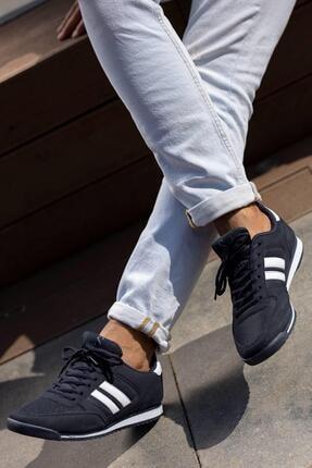 Muggo Erkek Lacivert Sneaker Ayakkabı Mgpalermo02 4