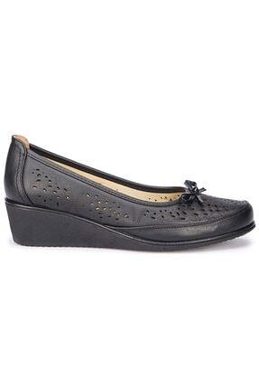 Polaris 5 Nokta Tam Ortopedik 71.109618 Siyah Günlük Kadın Ayakkabı 1
