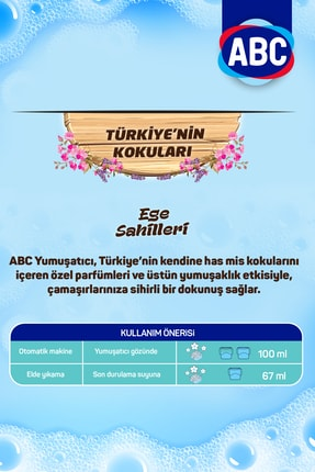 ABC Yumuşatıcı Türkiye'nin Kokuları Ege Sahilleri 5 lt 2