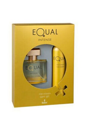 Equal Intense75 Ml Erkek Parfum Seti & Intense 75 Ml Kadın Parfüm Seti 1