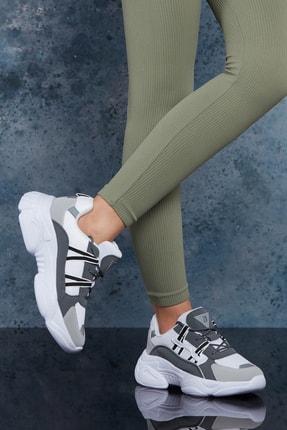 Picture of Beyaz Füme Kadın Sneaker