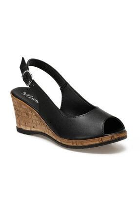 Missf DS20070 Siyah Kadın Sandalet 100531340 0