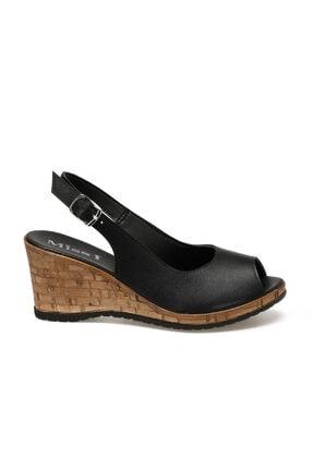 Missf DS20070 Siyah Kadın Sandalet 100531340 1