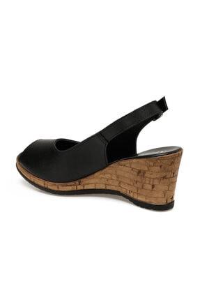 Missf DS20070 Siyah Kadın Sandalet 100531340 2