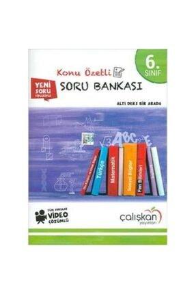 Çalışkan Yayınları 6.sınıf Tüm Dersler Konu Özetli Video Çözümlü Soru Bankası 0
