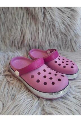 Akınalbella Kız Çocuk Lila Renk Crocs Terlik 0