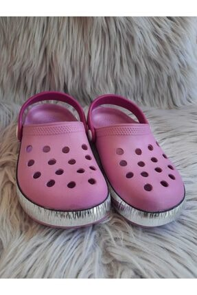 Akınalbella Kız Çocuk Lila Renk Crocs Terlik 1
