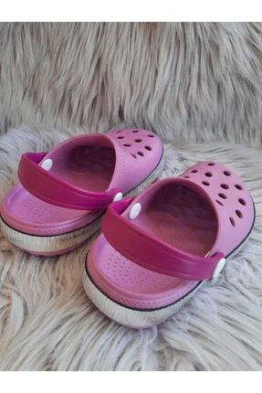 Akınalbella Kız Çocuk Lila Renk Crocs Terlik 3
