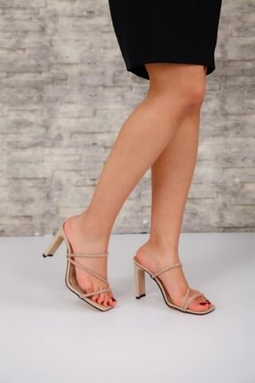 Crocus Kadın Topuklu Ten Crocus Topuklu