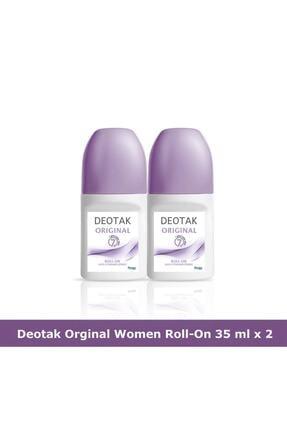 Deotak Orıgınal Roll-On Deodorant 35 ml x 2 0