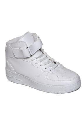 yenipapuc Unisex Beyaz Bilekli Sneaker Ayakkabı 0
