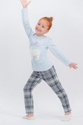 تصویر از 349-6-v1 Kız Çocuk Uzun Kol Pijama Takım
