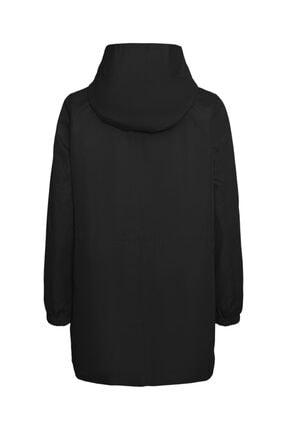 Vero Moda Kadın Kapüşonlu Beli Büzgülü Mevsimlik Mont 10243506 Vmgladıs 1