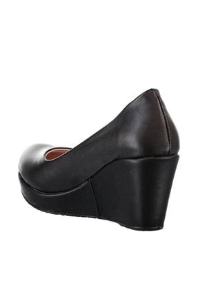 Soho Exclusive Siyah Kadın Dolgu Topuklu Ayakkabı 15849 3