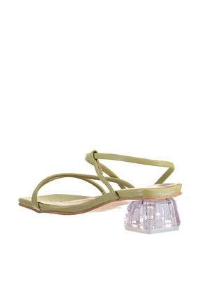 Soho Exclusive Yeşil Kadın Klasik Topuklu Ayakkabı 15822 4