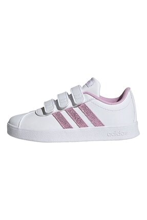 adidas VL COURT 2.0 CMF C Beyaz Kız Çocuk Sneaker Ayakkabı 101085040 1