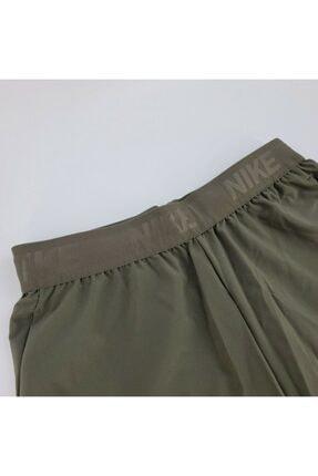 Nike Erkek Yeşil Mens Flex Drı Fıt Traınıng Gym Burnt Shorts Antreman Şortu 2