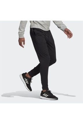 adidas Erkek Siyah Logo Baskılı Eşofman Altı 2